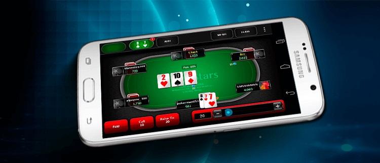 Покер старс мобильный