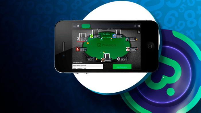 Pokerdom на мобильном